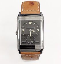 Jaeger-LeCoultre Reverso Duo Day & Night Watch  Ref # 270.8.54 Stainless Steel