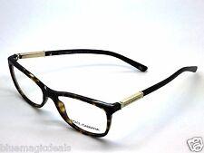 Dolce & Gabbana Eyeglasses D&G DG3107 DG/3107 502 Havana/Gold Frame 54mm/5684