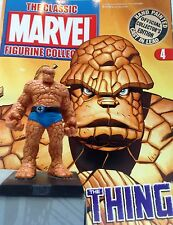 Classic Marvel Figurine Collection THE THING  ISSUE 4 RARE EAGLEMOSS SALE!!!