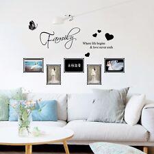 Wandtattoo Wandsticker Bild Aufkleber Home Küche Wohnzimmer Familie Sticker
