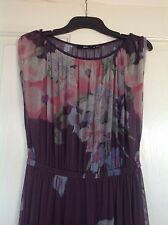 SPORTSGIRL FLORAL MAXI DRESS WITH SLIP SIZE S (10)