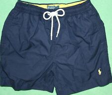Ralph Lauren Refined Leisure Cowboy Series Blue Beach Shorts
