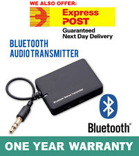 Bluetooth 3.5 A2DP Stereo Audio Adapter Dongle Sender Transmitter for TV Speaker