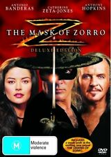 The Mask Of Zorro (DVD)- Deluxe Edition - Region 4 - Very Good Condition