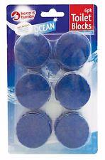 36 x BLUE TOILET CISTERN LOO BLOCKS - OCEAN FRAGRANCED