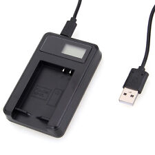 LCD USB Charger ONLY for Canon NB-10L Battery PowerShot G16 G15 G1X SX50 SX40 HS
