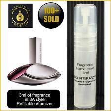Euphoria by CALVIN KLEIN  EdP -- 3ml Womens Perfume Sample Travel Spray Atomizer