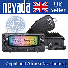 Alinco DR-735E 145/433 MHz twinband transceiver with rainbow display