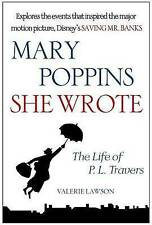 Mary Poppins, She Wrote: The Life of P. L. Travers by Valerie Lawson (Paperback,