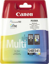 Original Canon PG-540 Black and CL-541 Colour Multi / Twin Pack Ink Cartridges