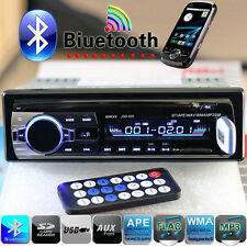 Bluetooth Car Stereo Radio Head Unit For Player MP3 USB SD AUX-IN RDS FM Phones