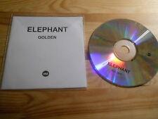 CD Pop Elephant - Golden (1 Song) Promo MEMPHIS INDUSTRIES