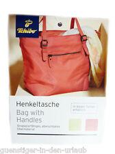 TCM Tchibo Henkeltasche Handtasche Tasche Shopper koralle NEU
