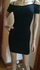 Guess jumper dress with cut out shoulders, black | size Small