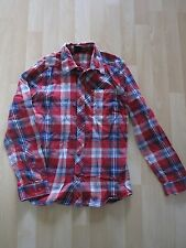 Boys Aged 12 Years Red Check Shirt by Quiksilver