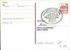 Sonderstempel HAMBURG Briefmarken Ausstellung Gänsemarkt Passage a/ Ganzsache PK