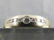 CHRIST Brillant Ring 585er Gold bicolor 9 Brillanten ca. 0,28 ct. Gr. 57 Diamant