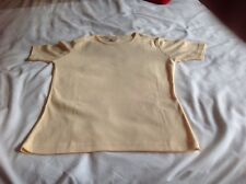 Ladies Yellow Top From Debenhams Casual Club Size 12
