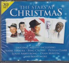 THE STARS AT CHRISTMAS - VARIOUS ARTISTS on 3 CD's -  NEW -