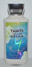 NEW BATH & BODY WORKS TAHITI ISLAND DREAM LOTION CREAM SHEA BUTTER LARGE 8 OZ