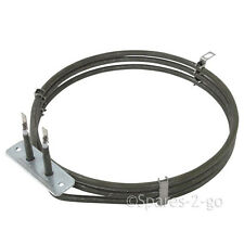 WHITE WESTINGHOUSE Genuine Fan Oven Cooker 3 Turn Round Heater Element 12570032