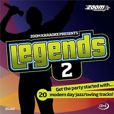 Zoom Karaoke Legends 2 (ZKL002) - 20 Modern Day Jazz/Swing Tracks