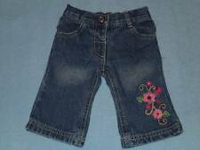 Target Cute Little Girls Embroidered Jeans, Size 000
