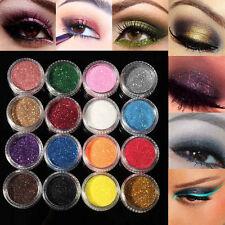 12 X Color Shimmer Mineral Eye Shadow Makeup Palette Glitter Cosmetics Eyeshadow