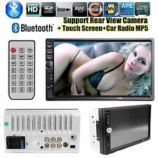 "Multifunctio7"" HD Touch Screen Double 2DIN Car Stereo MP5 Player Bluetooth Radio"