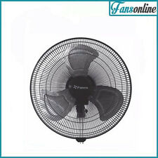 Fanco #1 Premium Semi Commercial Wall Fan - Black 18""