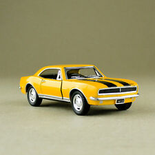 1967 Chevrolet Camaro Z/28 Yellow 1:37 Scale Die-Cast Model Car Pull-Back No Box