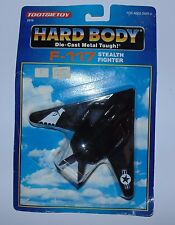 Vintage Tootsietoy Die Cast F-117 Stealth Fighter Hard Body Plane Sealed