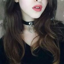 Punk Bohemina Fashion Goth Leather Rivet Style Collar Choker Funky Necklace Girl