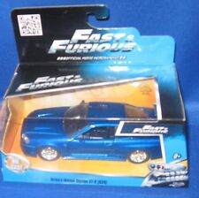 FAST & FURIOUS MOVIE BRIAN'S NISSAN SKYLINE GT-R (R34) DIE CAST COLLECTIBLE CAR