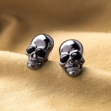 1Pair Fashion Style Punk Unisex Men Women Lovely Skull Ear Stud Earrings Gifts