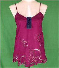 Bnwt Women's French Connection Strappy Top Blouse Xsmall UK8 RRP£45