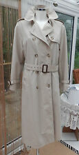 Ladies Trench Coat SIZE 12 LONG by Marks & Spencer