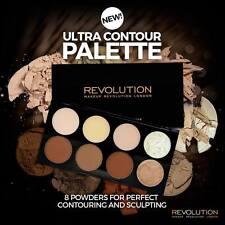 Makeup Revolution ( ULTRA CONTOUR PALETTE ) Contour+Highlighting Powder Palette