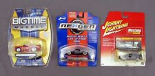 2005 Diecast Jada Ford Mustang Bigtime Muscle Johnny Lightning Cars - Lot of 3