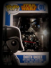 Star Wars - Darth Vader - Vinyl Figur - Limited Chrome Edition - Funko Pop!