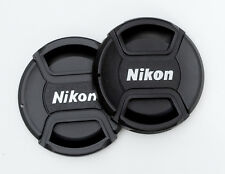 Two Lens Caps 77mm Centre Pinch for Nikon. Two for the price of one