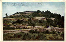 Manitou America USA Colorado AK ~1920/30 Auto Road Cave of Winds U.S. Postcard