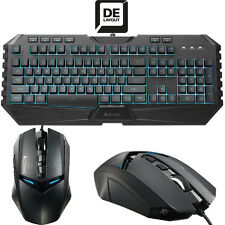 Cooler Master Octane USB Gaming Beleuchtet Tastatur 7 LED Farben, Maus 3500 DPI