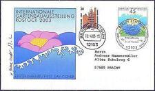 BRD 2003: IGA Rostock! FDC der Nr. 2335 mit Berliner Stempeln! Gelaufen! 157