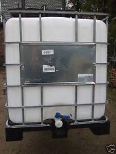 Regenwassertank, Wasserfass, IBC, 220, 640, 1000 Ltr., gereinigt