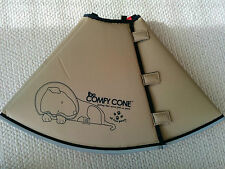 Comfy Cone Elizabethan Collar Medium X-Long. Dog wound healing e-Collar in AUS