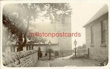 REAL PHOTOGRAPHIC POSTCARD OF AMPLEFORTH CHURCH, NORTH YORKSHIRE BY J. HODGSON