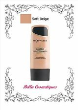 MAX FACTOR LASTING PERFORMANCE FOUNDATION 105 SOFT BEIGE makeup