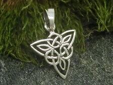 Keltischer Knoten 925er Silber Anhänger Dreiecksknoten Keltenschmuck