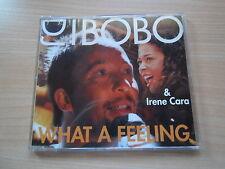 """MAXI-CD VON DJ BOBO & IRENE CARA """"WHAT A FEELING"""""""